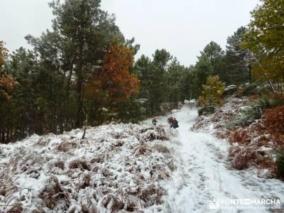 Valle de Iruelas - Pozo de nieve - Cerro de la Encinilla;pantalones senderismo senderismo en cordoba
